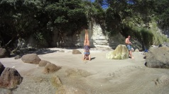 Hand stand, why not