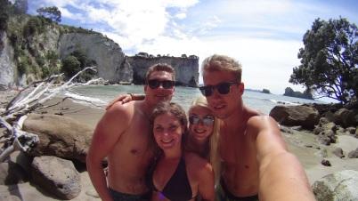 Stingray Bay with Manuel, Linda and Tino