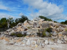 Steamy rocks