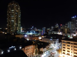 From the YHA rooftop