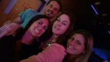 Casmin, Casey, Christine and I