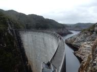 Gordon Dam in South West Tasmania