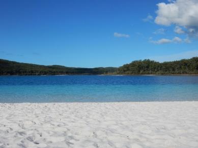 Lake McKenzie on Fraser