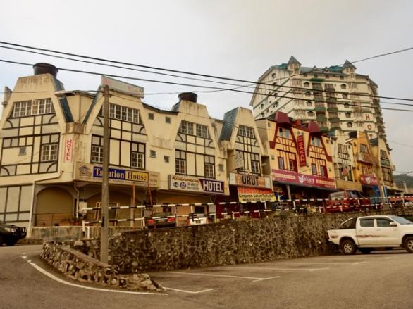 Cute houses in Brinchang