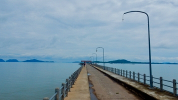 The pier at Old Town at Koh Lanta
