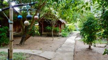 Our cabin on Koh Lanta
