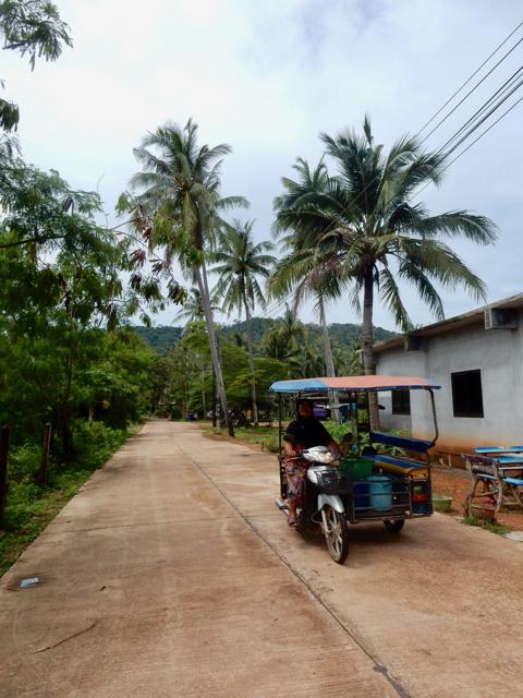 Cruising through the little roads of Koh Lanta