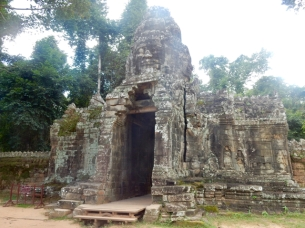 Entrance Banteay Kdei