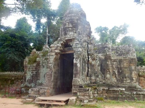 Entrance Banteay Kdei