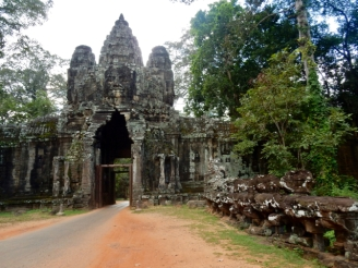 Entrance Angkor Thom