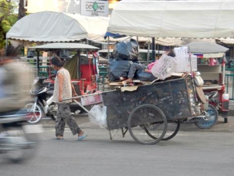 Early morning Phnom Penh