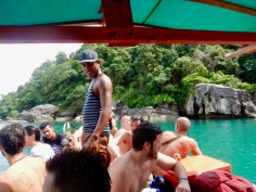 There definitely was still some room on the boat ;)