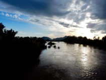 Sunset from the bridge